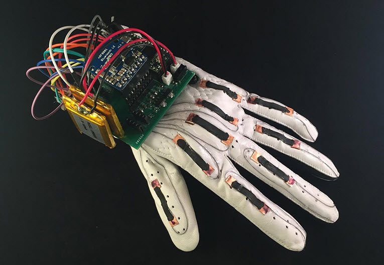 Electronic Sign Language Glove Improves Health in non verbal Seniors