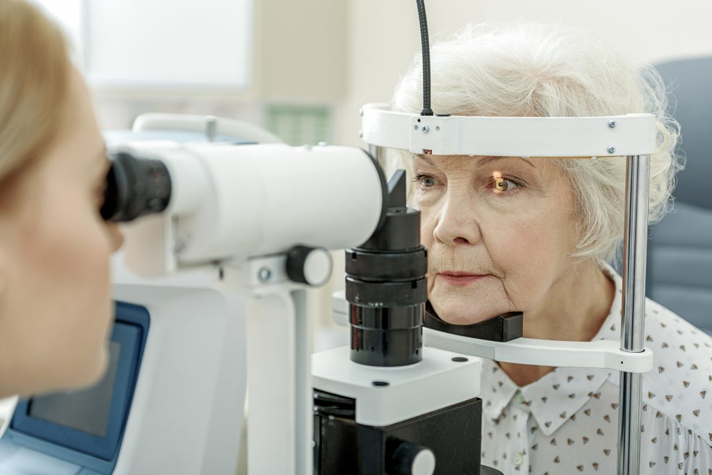 eye test Alzheimer's