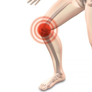Knee pain in joint